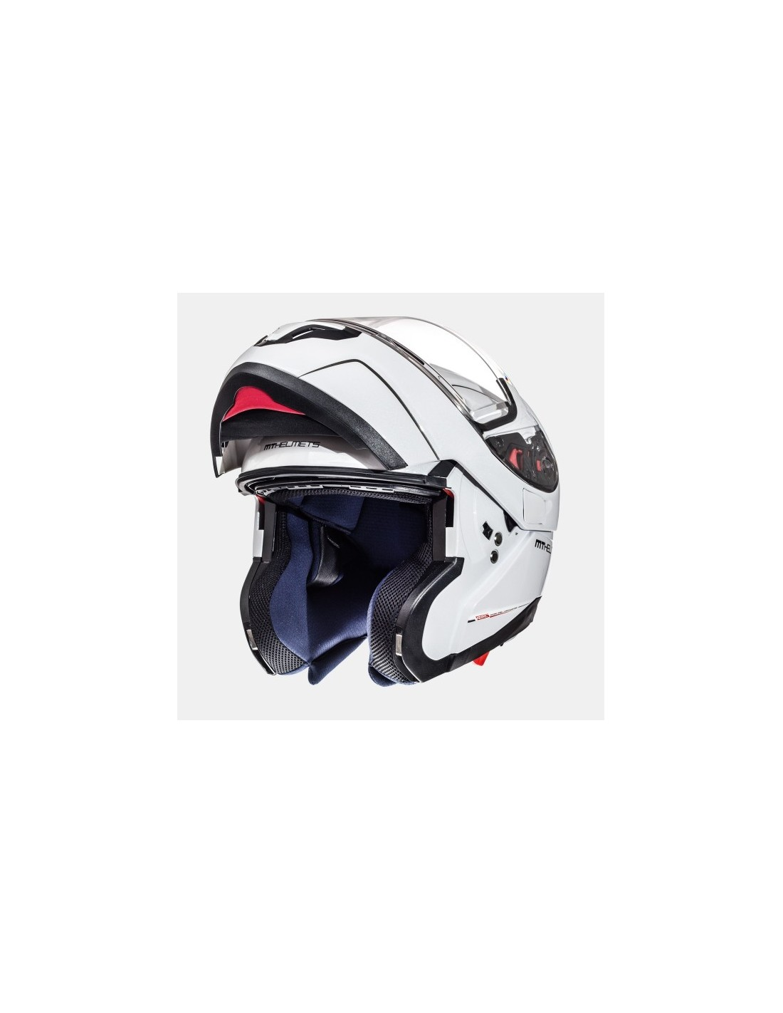 Casco Mt Atom Sv Solid Blanco